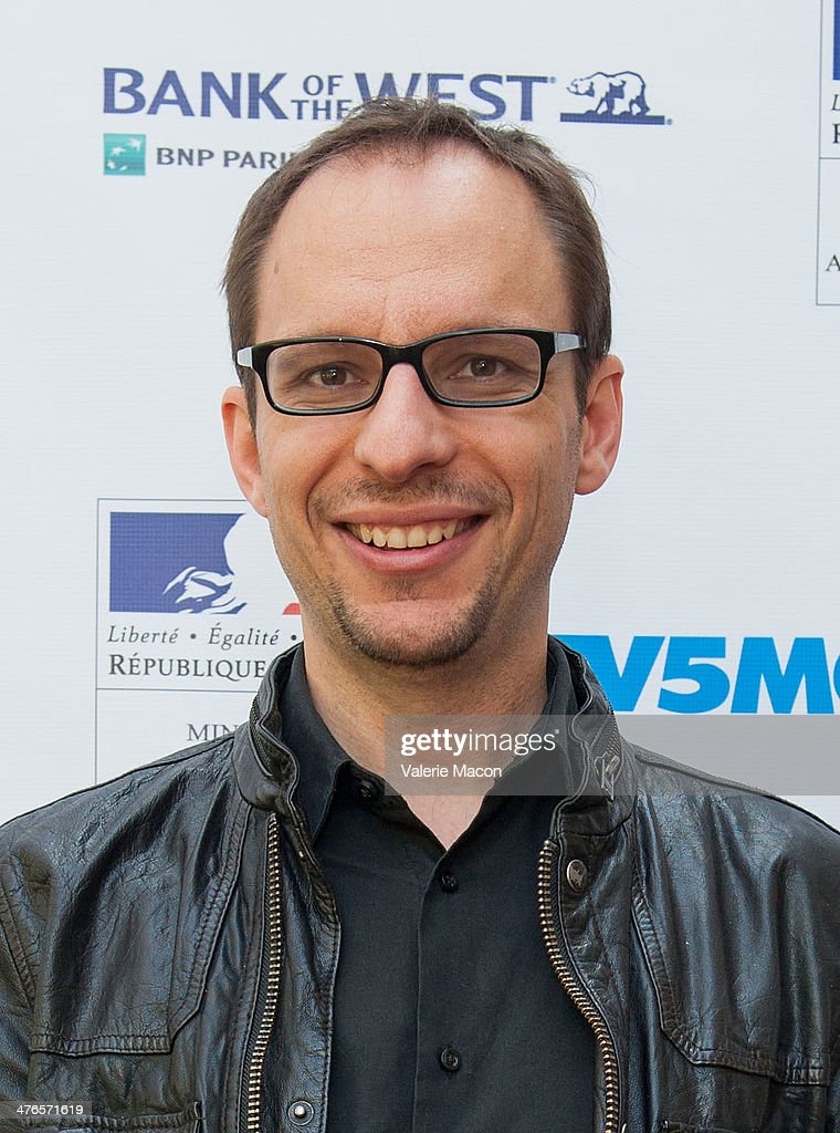 Filmmaker Laurent Witz attends The Consul General Of France, Mr. Axel Cruau, Honors The French Nominees For The 86th Annual Academy Awards party on March 3, 2014 in Beverly Hills, California.