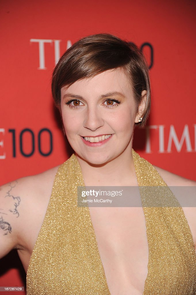 Filmmaker Lena Dunham attends the 2013 Time 100 Gala at Frederick P. Rose Hall, Jazz at Lincoln Center on April 23, 2013 in New York City.