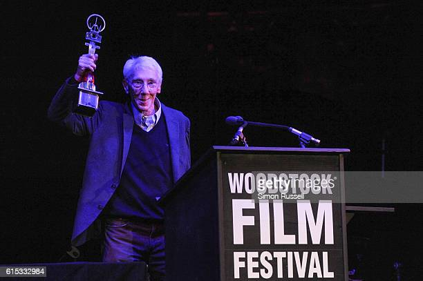 Filmmaker Leon Gast receives the Lifetime Achievement Award at BSP Studios on October 15 2016 in Kingston New York