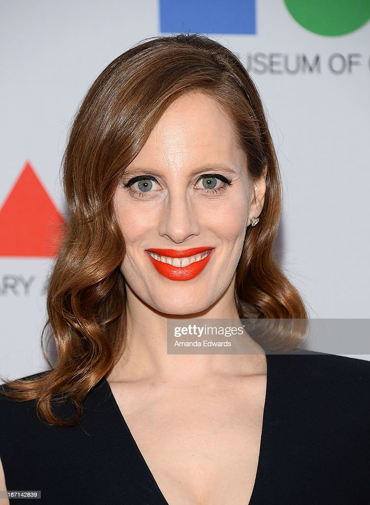 Filmmaker Liz Goldwyn arrives at the 'Yesssss!' 2013 MOCA Gala, celebrating the opening of the exhibition Urs Fischer at MOCA Grand Avenue on April 20, 2013 in Los Angeles, California.