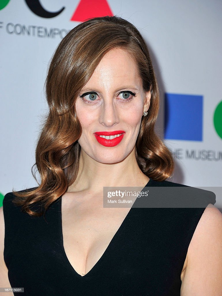 Filmmaker Liz Goldwyn arrives for 'Yesssss!' 2013 MOCA Gala, Celebrating The Opening Of The Exhibition Urs Fischer at MOCA Grand Avenue on April 20, 2013 in Los Angeles, California.