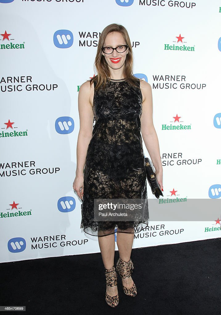 Filmmaker <a gi-track='captionPersonalityLinkClicked' href=/galleries/search?phrase=Liz+Goldwyn&family=editorial&specificpeople=542651 ng-click='$event.stopPropagation()'>Liz Goldwyn</a> attends the Warner Music Group annual Grammy celebration at the Sunset Towers on January 26, 2014 in West Hollywood, California.