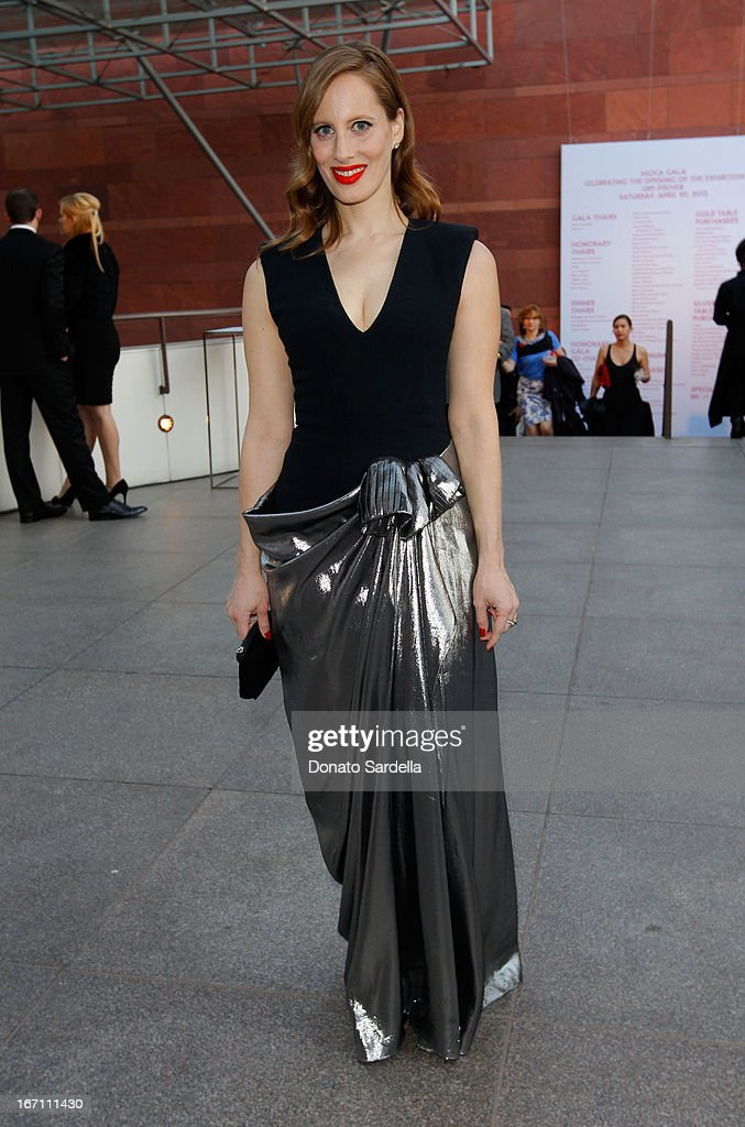 """Filmmaker Liz Goldwyn attends """"Yesssss!"""" MOCA Gala 2013, Celebrating the Opening of the Exhibition Urs Fischer, at MOCA Grand Avenue and The Geffen Contemporary on April 20, 2013 in Los Angeles, California."""