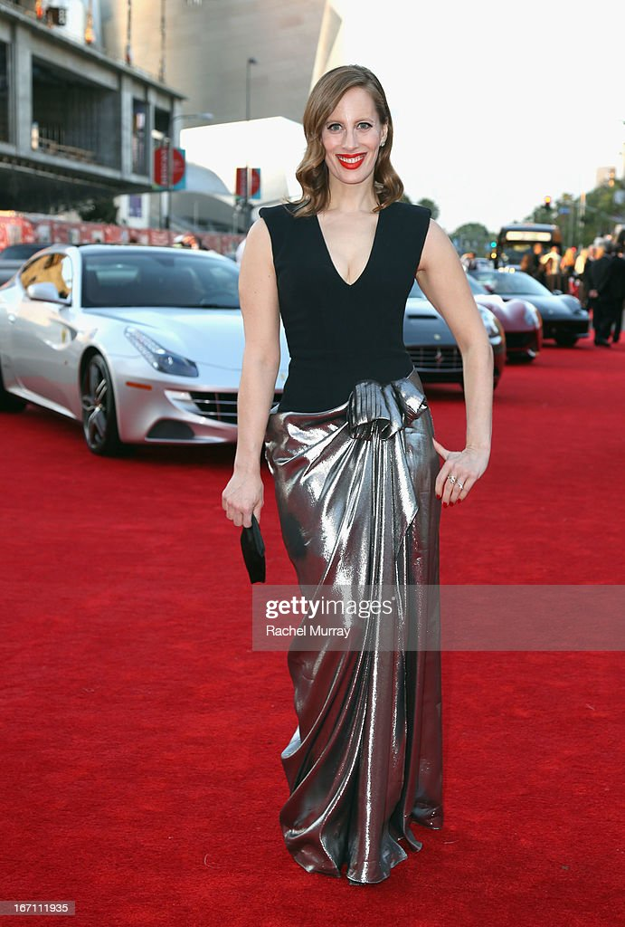 "Filmmaker Liz Goldwyn attends ""Yesssss!"" MOCA Gala 2013, Celebrating the Opening of the Exhibition Urs Fischer, at MOCA Grand Avenue and The Geffen Contemporary on April 20, 2013 in Los Angeles, California."