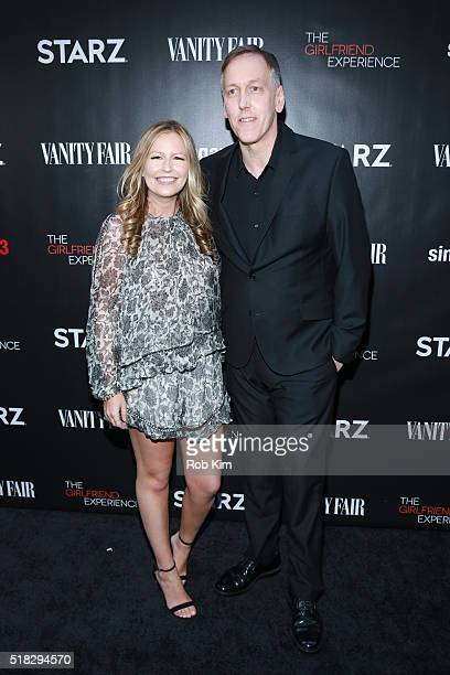 Filmmaker Lodge Kerrigan and guest attend the New York Premiere of 'The Girlfriend Experience' at The Paris Theatre on March 30 2016 in New York City