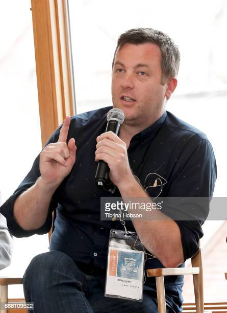 Filmmaker Luke Rivett attends the 2017 Aspen Shortsfest filmmakers master class on April 7 2017 at Mountain Chalet in Aspen Colorado