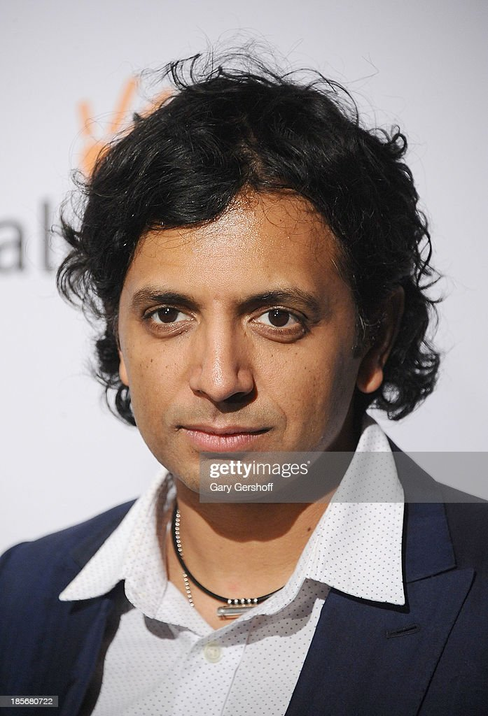 Filmmaker <a gi-track='captionPersonalityLinkClicked' href=/galleries/search?phrase=M.+Night+Shyamalan&family=editorial&specificpeople=227417 ng-click='$event.stopPropagation()'>M. Night Shyamalan</a> attends the Somaly Mam Foundation Gala at Gotham Hall on October 23, 2013 in New York City.