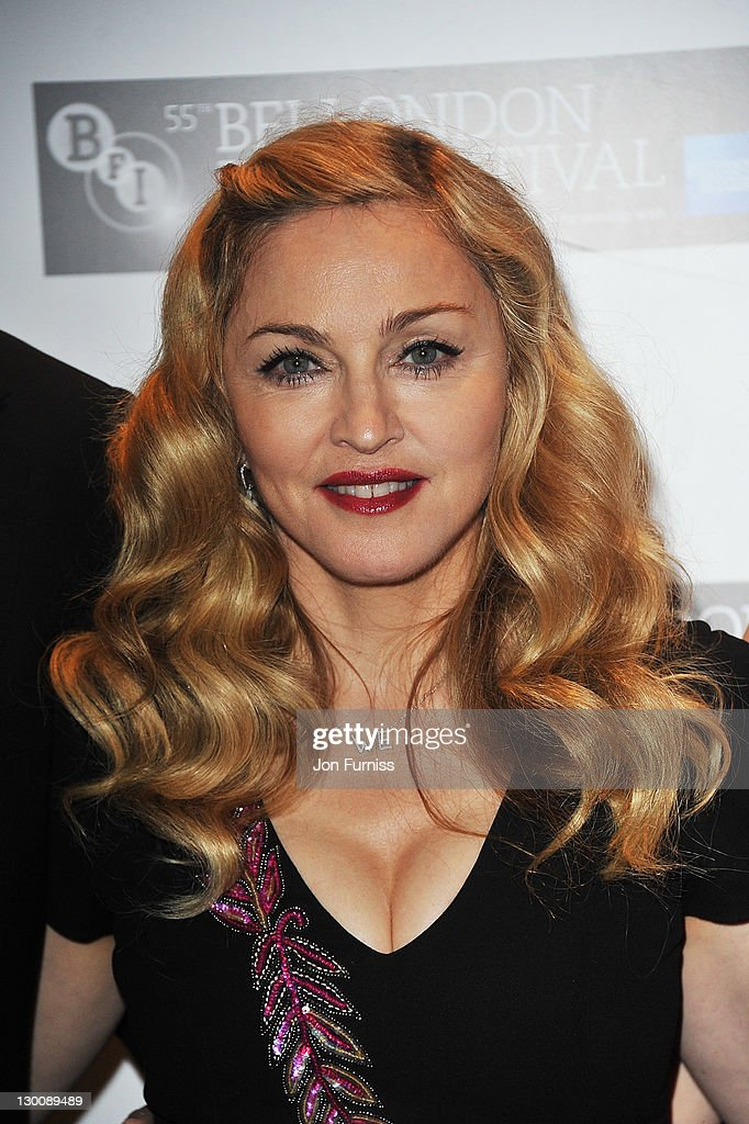 Film-maker Madonna attends the screening of 'W.E.' at The 55th BFI London Film Festival at Empire Leicester Square on October 23, 2011 in London, England.