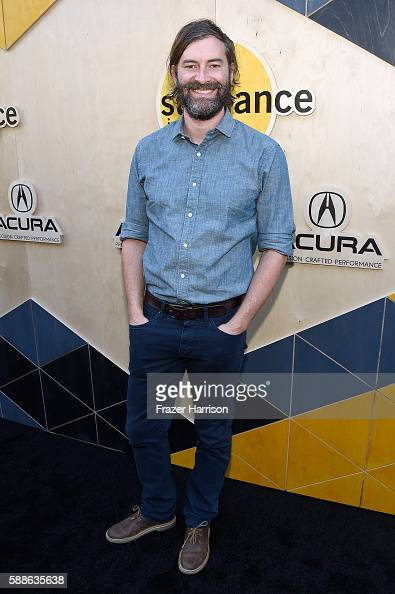 Filmmaker Mark Duplass attends the Sundance Institute NIGHT BEFORE NEXT Benefit at The Theatre at The Ace Hotel on August 11 2016 in Los Angeles...