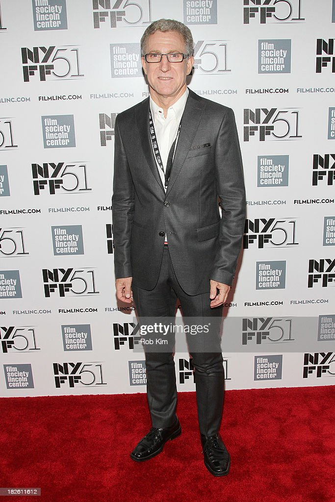 Filmmaker Mark Levinson attends the 'About Time' premiere during the 51st New York Film Festival at Alice Tully Hall at Lincoln Center on October 1, 2013 in New York City.