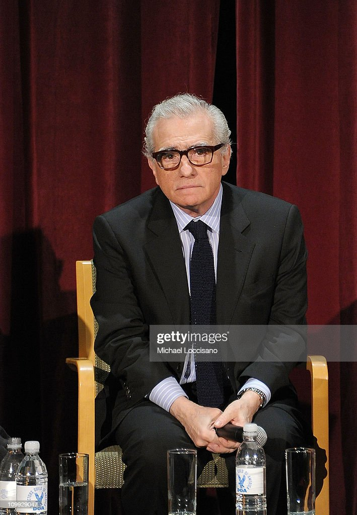 Filmmaker <a gi-track='captionPersonalityLinkClicked' href=/galleries/search?phrase=Martin+Scorsese&family=editorial&specificpeople=201976 ng-click='$event.stopPropagation()'>Martin Scorsese</a> takes part in a Q&A before the the <a gi-track='captionPersonalityLinkClicked' href=/galleries/search?phrase=Martin+Scorsese&family=editorial&specificpeople=201976 ng-click='$event.stopPropagation()'>Martin Scorsese</a> 35th Anniversary 'Taxi Driver' screening at the Directors Guild Theatre on March 10, 2011 in New York City.