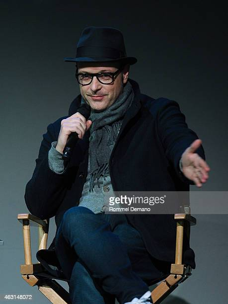 Filmmaker Matthew Vaughn attends Apple Store Soho Presents Meet The Filmmaker Matthew Vaughn 'Kingsman The Secret Service' at Apple Store Soho on...
