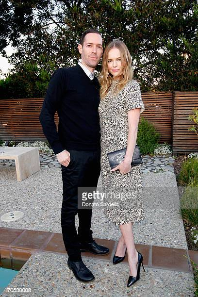 Filmmaker Michael Polish and actress Kate Bosworth attend an informal supper hosted by Barneys New York to toast designers Jack McCollough and Lazaro...