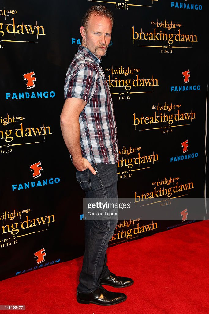Filmmaker Morgan Spurlock arrives at 'The Twilight Saga: Breaking Dawn - Part 2' VIP Comic-Con celebration at Hard Rock Hotel San Diego on July 11, 2012 in San Diego, California.