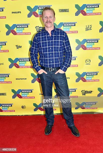 Filmmaker Morgan Spurlock attends 'HyperReality TV and Online Video Are a Perfect Fit' during the 2015 SXSW Music Film Interactive Festival at Austin...