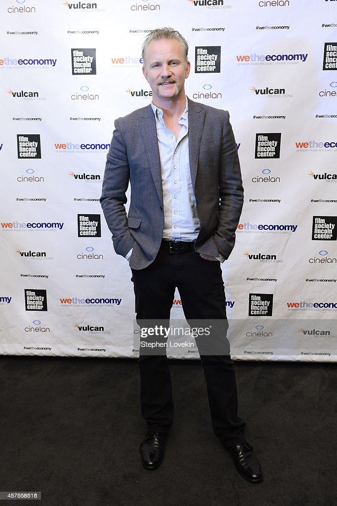 Filmmaker Morgan Spurlock attends Paul G Allen's Vulcan Productions and Morgan Spurlock's Cinelan presentation of the world premiere of 'We The...
