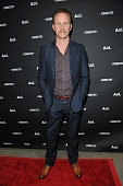 Filmmaker Morgan Spurlock attends the 2014 AOL NewFronts at Duggal Greenhouse on April 29 2014 in New York New York