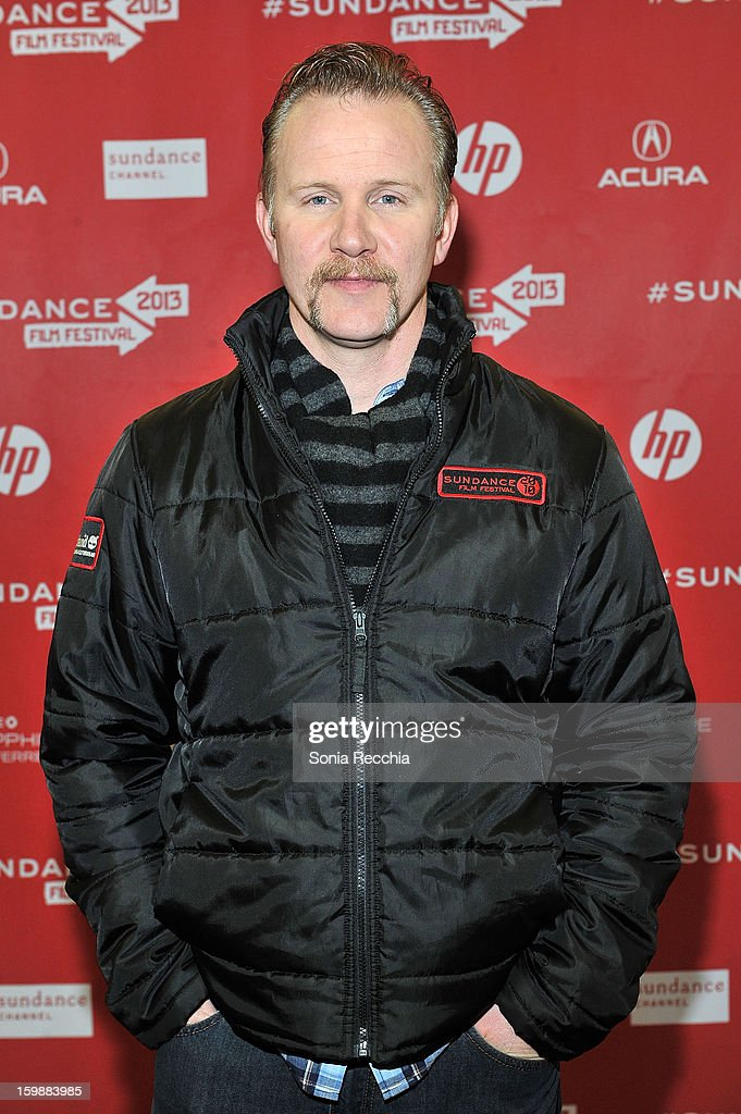 Filmmaker <a gi-track='captionPersonalityLinkClicked' href=/galleries/search?phrase=Morgan+Spurlock&family=editorial&specificpeople=212719 ng-click='$event.stopPropagation()'>Morgan Spurlock</a> attends the 'Blood Brother' premiere at Yarrow Hotel Theater during the 2013 Sundance Film Festival on January 22, 2013 in Park City, Utah.