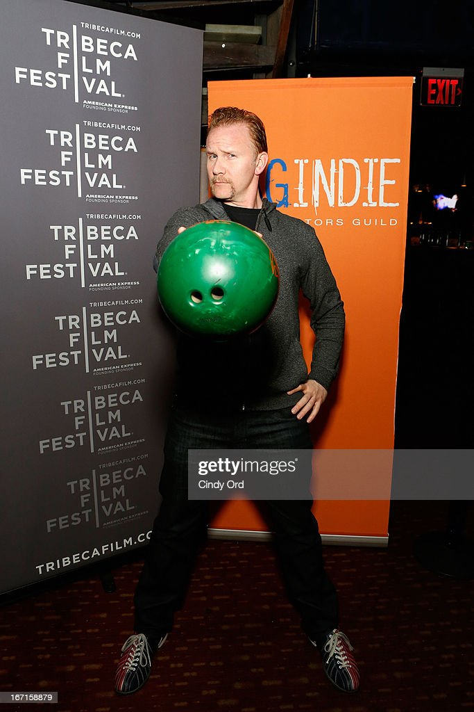 Filmmaker Morgan Spurlock attends the SAG/Indie Party during the 2013 Tribeca Film Festival on April 21, 2013 in New York City.