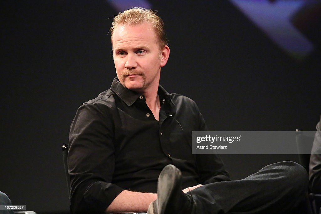 Filmmaker Morgan Spurlock attends the Tribeca Talks: The Business of Entertainment: Truth, Persuasion And Bias In Documentaries event at the 2013 Tribeca Film Festival on April 22, 2013 in New York City.