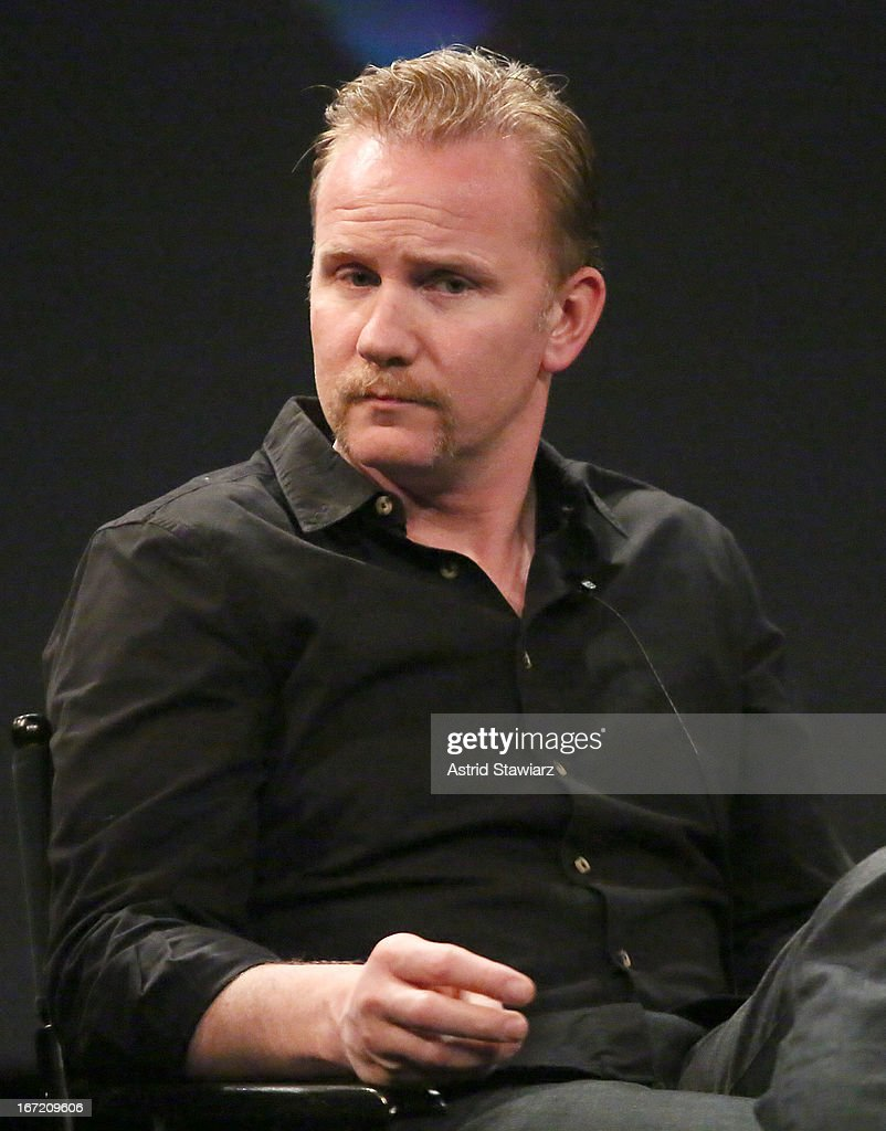 Filmmaker <a gi-track='captionPersonalityLinkClicked' href=/galleries/search?phrase=Morgan+Spurlock&family=editorial&specificpeople=212719 ng-click='$event.stopPropagation()'>Morgan Spurlock</a> attends the Tribeca Talks: The Business of Entertainment: Truth, Persuasion And Bias In Documentaries event at the 2013 Tribeca Film Festival on April 22, 2013 in New York City.