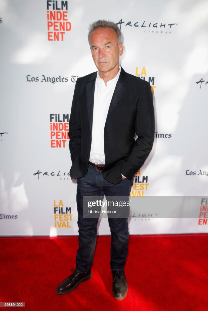 Filmmaker Nick Broomfield attends the screening of 'Whitney: Can I Be Me' during the 2017 Los Angeles Film Festival at Arclight Cinemas Culver City on June 20, 2017 in Culver City, California.