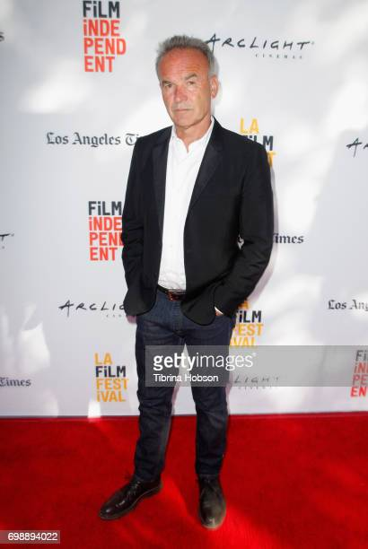 Filmmaker Nick Broomfield attends the screening of 'Whitney Can I Be Me' during the 2017 Los Angeles Film Festival at Arclight Cinemas Culver City on...