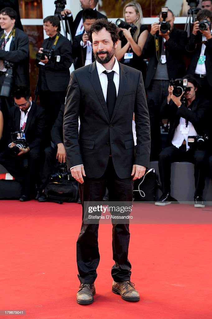 Filmmaker Noaz Deshe arrives at the closing ceremony of the 70th Venice International Film Festival at Palazzo del Cinema on September 7, 2013 in Venice, Italy.