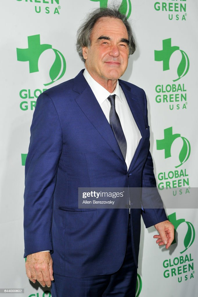 Filmmaker Oliver Stone attends the 14th Annual Global Green Pre-Oscar Gala at TAO Hollywood on February 22, 2017 in Los Angeles, California.