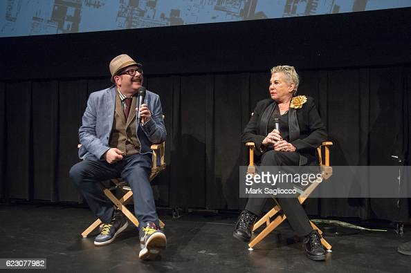 Filmmaker Otis Mass and Photographer/Documentary subject Rose Hartman attend the 'The Incomparable Rose Hartman' Screening at the IFC Center on...