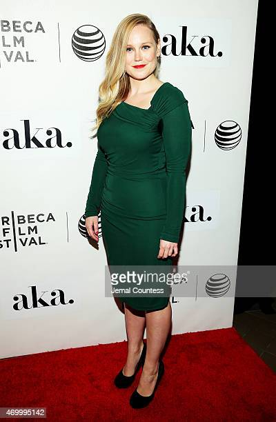 Filmmaker Pamela Romanowsky attends the premiere of 'The Adderall Diaries' during the 2015 Tribeca Film Festival at BMCC Tribeca PAC on April 16 2015...
