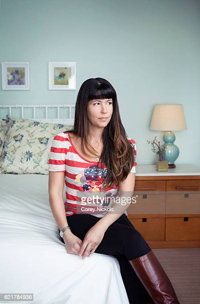 Filmmaker Patty Jenkins is photographed for Emmy Magazine on May 1 2012 in Santa Monica California