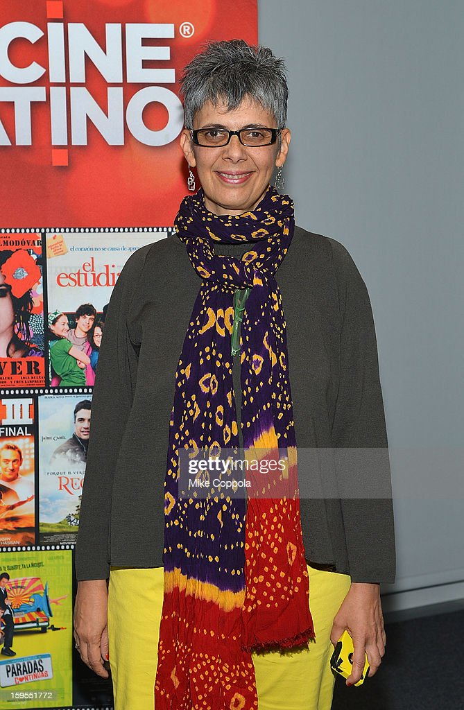 Filmmaker Paula Heredia attends 3rd Annual Cinema Tropical Awards at The New York Times Headquarters on January 15, 2013 in New York City.