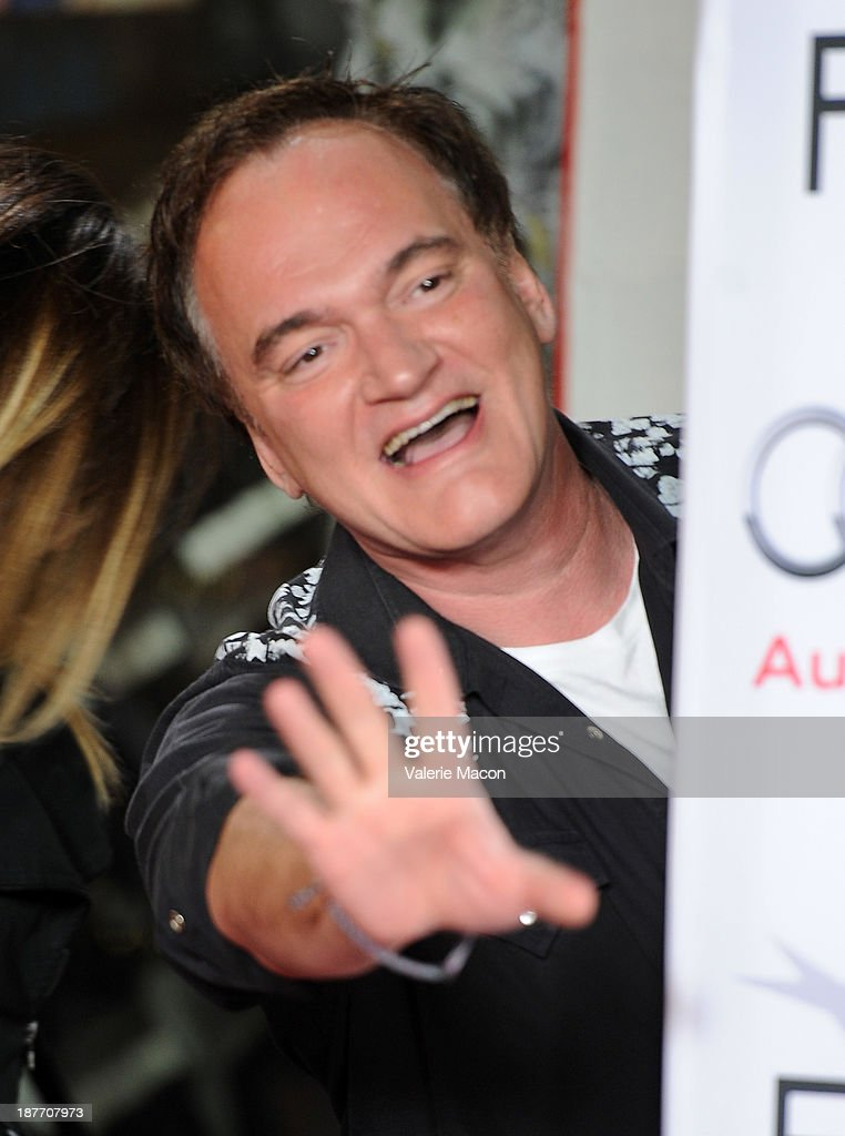 Filmmaker <a gi-track='captionPersonalityLinkClicked' href=/galleries/search?phrase=Quentin+Tarantino&family=editorial&specificpeople=171796 ng-click='$event.stopPropagation()'>Quentin Tarantino</a> attends the screening of 'Nebraska' during AFI FEST 2013 presented by Audi at TCL Chinese Theatre on November 11, 2013 in Hollywood, California.
