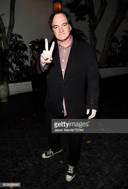 Filmmaker Quentin Tarantino attends the W Magazine celebration of the 'Best Performances' Portfolio and The Golden Globes with Audi and Dom Perignon...