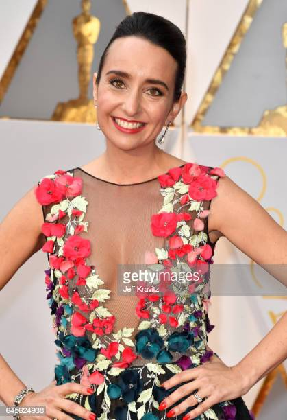 Filmmaker Raphaela Neihausen attends the 89th Annual Academy Awards at Hollywood Highland Center on February 26 2017 in Hollywood California