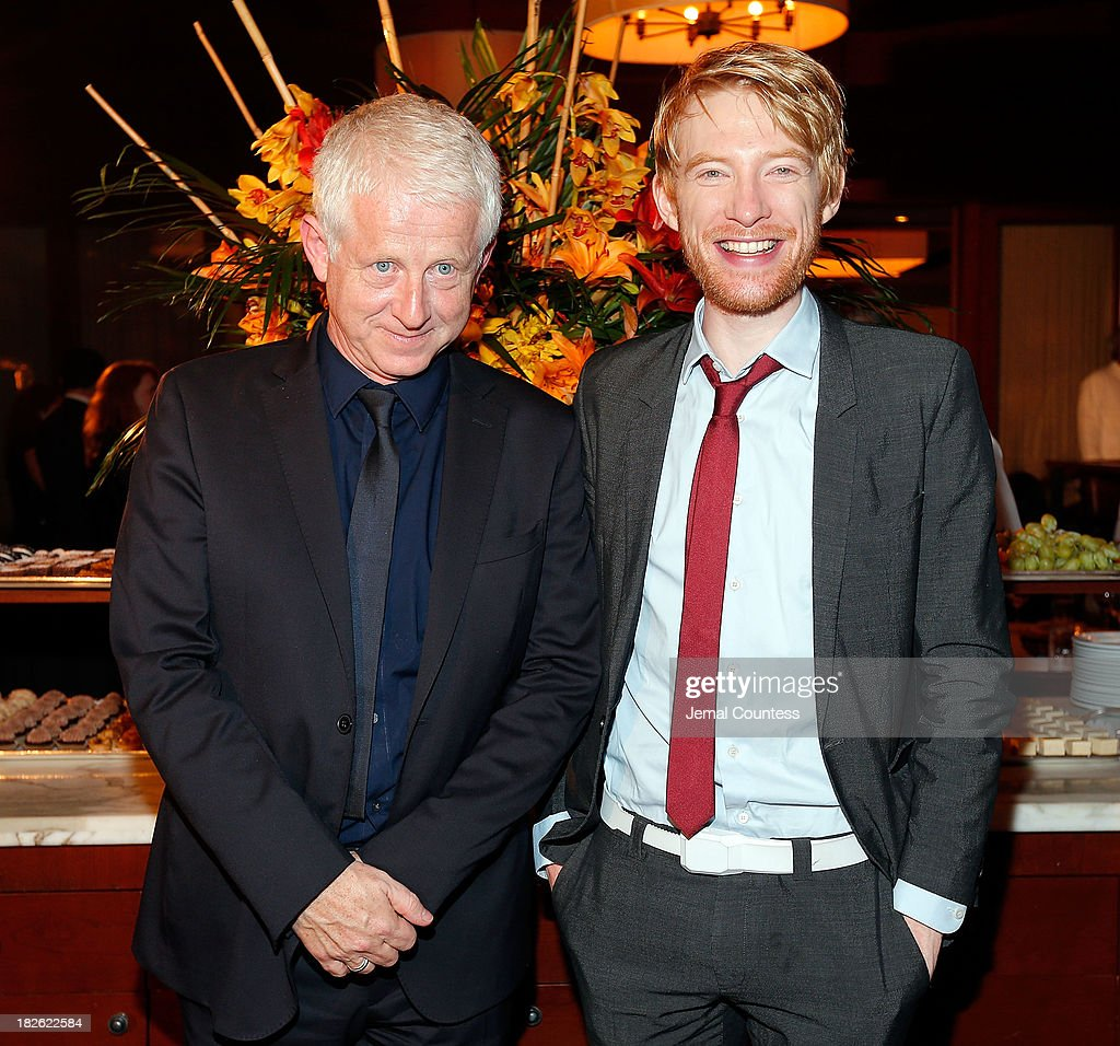 Filmmaker Richard Curtis and actor Domhnall Gleeson attend the after party for the 'About Time' & 'Jimmy