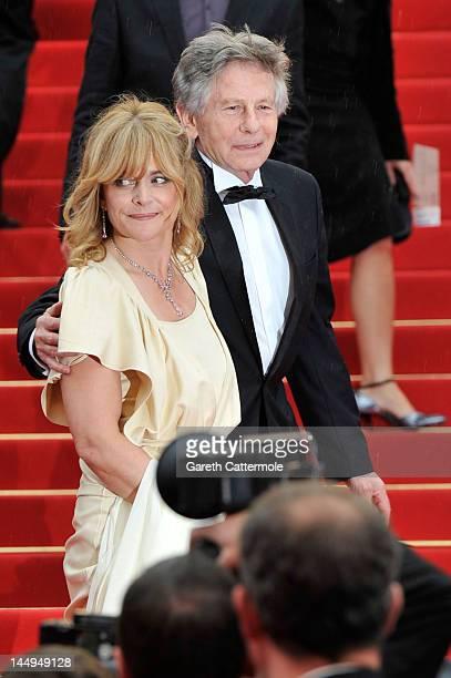 Filmmaker Roman Polanski and actress Nastassja Kinski attend 'Tess' Cannes Classics Premiere during the 65th Annual Cannes Film Festival at Palais...