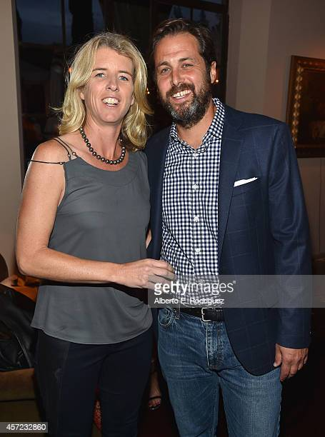 Filmmaker Rory Kennedy and author Mark Bailey attend the publication celebration of Mark Bailey and Ed Hemingway's 'Of All The Gin Joints Stumbling...