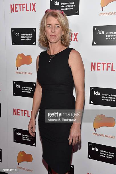 Filmmaker Rory Kennedy attends the 2015 IDA Documentary Awards at Paramount Studios on December 5 2015 in Hollywood California