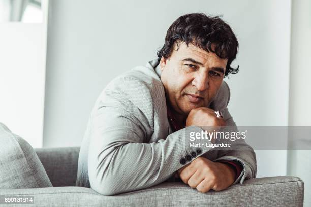 Filmmaker Salim Shaheen is photographed on May 25 2017 in Cannes at Majestic Beach France