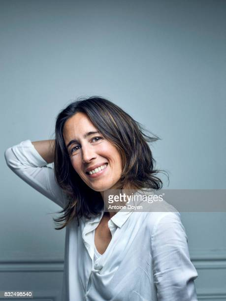Filmmaker Savina Dellicour is photographed for Self Assignment on June 14 2016 in Paris France