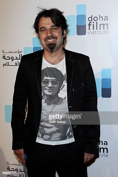 Filmmaker Scandar Copti attends the Doha Film Institute launch event on May 16 2010 in Cannes France