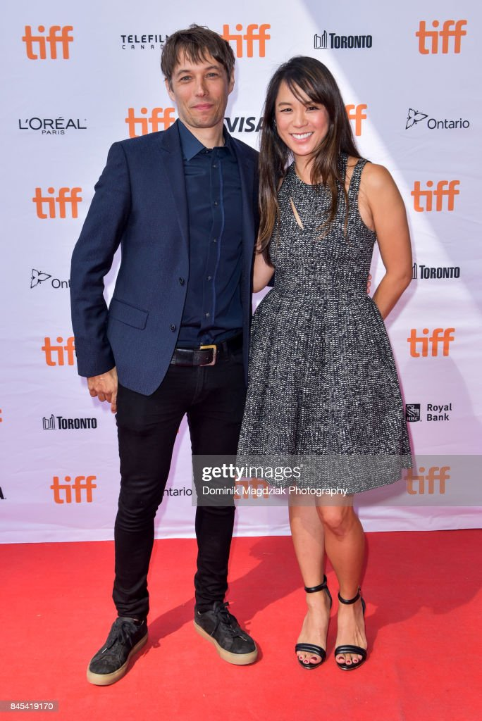 Filmmaker Sean Baker and guest Samantha Quan attend the 'The Florida Project' premiere at the Ryerson Theatre on September 10, 2017 in Toronto, Canada.