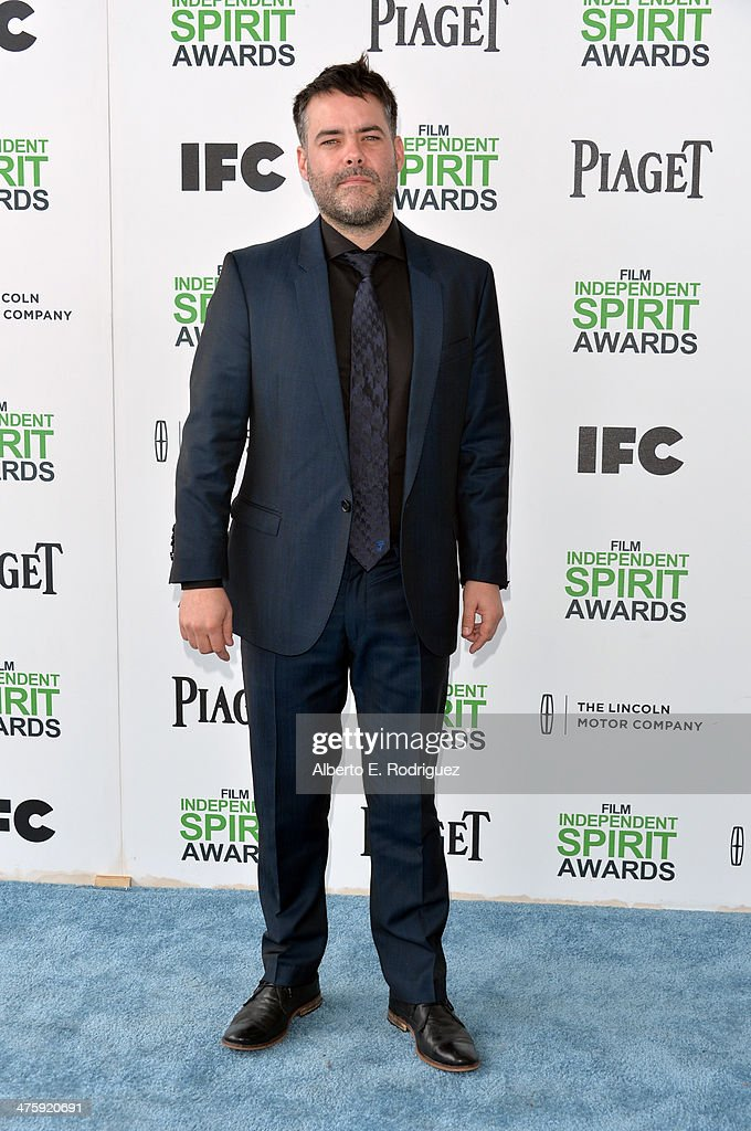 Filmmaker Sebastian Lelio attends the 2014 Film Independent Spirit Awards at Santa Monica Beach on March 1 2014 in Santa Monica California