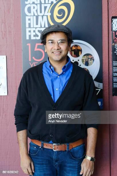Filmmaker Shankey Srinivasan appears for his film The Last Smile at the Santa Cruz Film Festival at Tannery Arts Center on October 14 2017 in Santa...