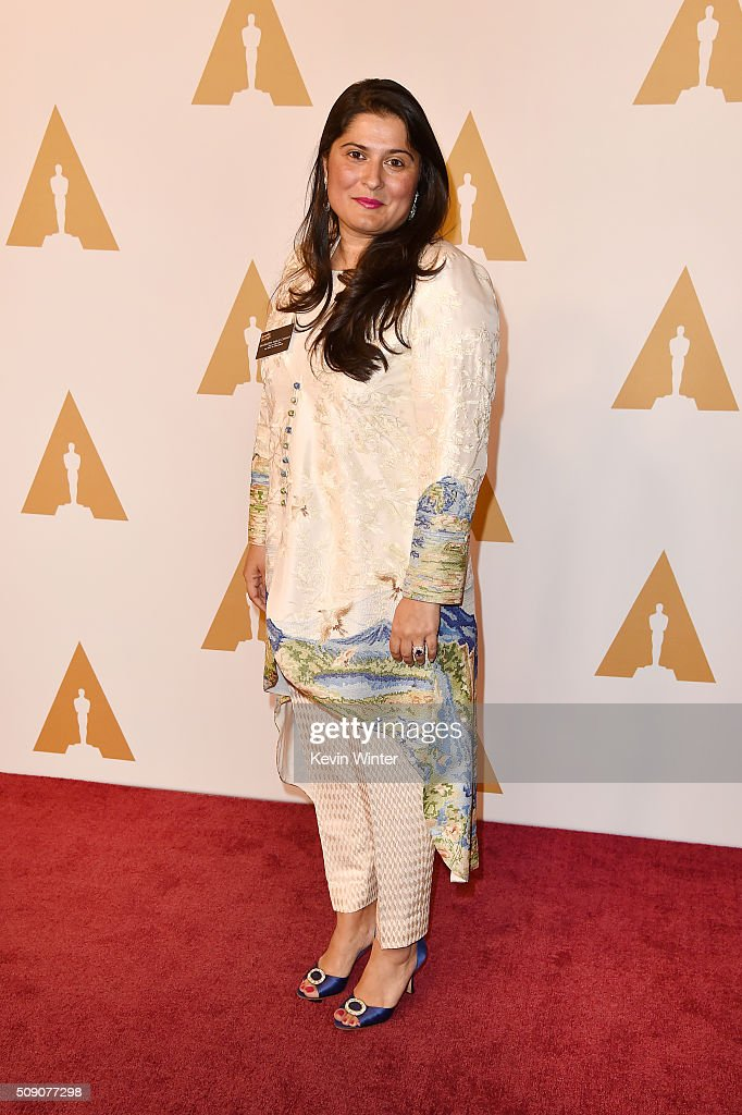 Filmmaker Sharmeen Obaid-Chinoy attends the 88th Annual Academy Awards nominee luncheon on February 8, 2016 in Beverly Hills, California.