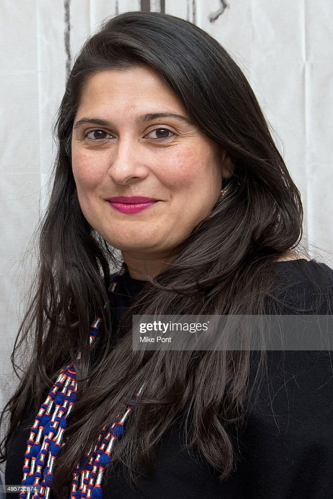 Filmmaker <a gi-track='captionPersonalityLinkClicked' href=/galleries/search?phrase=Sharmeen+Obaid-Chinoy&family=editorial&specificpeople=5581145 ng-click='$event.stopPropagation()'>Sharmeen Obaid-Chinoy</a> discusses the film 'Song of Lahore' at AOL Studios In New York on November 4, 2015 in New York City.