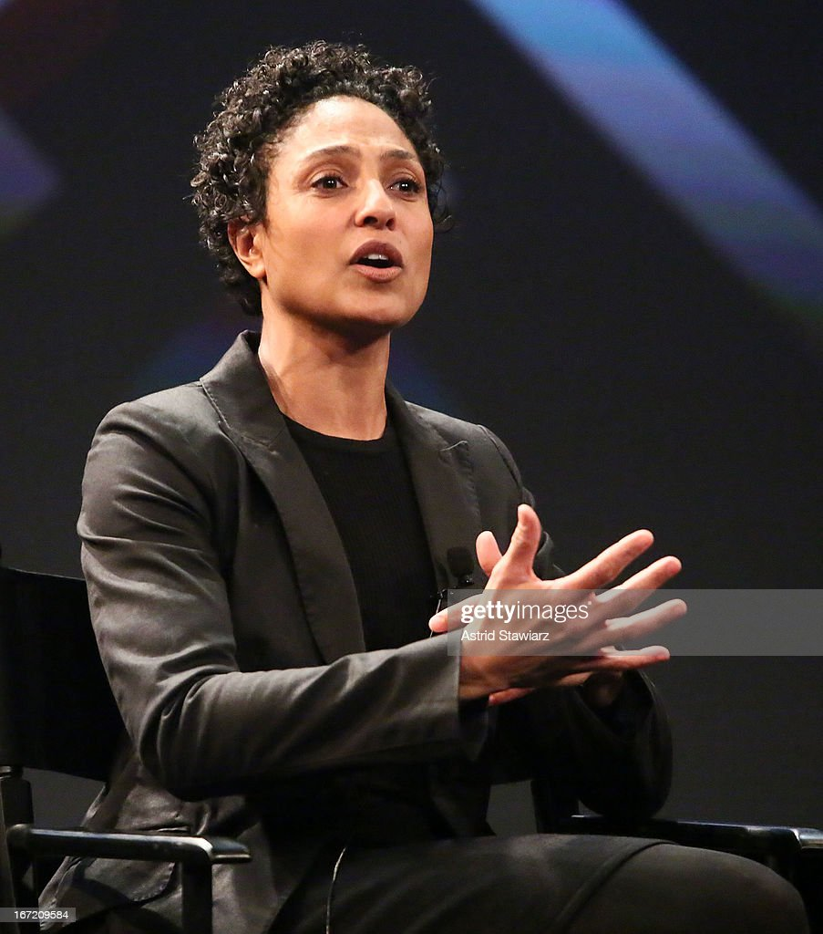 Filmmaker Shola Lynch attends the Tribeca Talks: The Business of Entertainment: Truth, Persuasion And Bias In Documentaries event at the 2013 Tribeca Film Festival on April 22, 2013 in New York City.