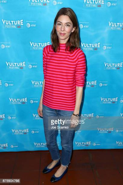 Filmmaker Sofia Coppola attends the 'Sofia Coppola and Adam Moss in Coversation' panel during Vulture Festival LA Presented by ATT at Hollywood...